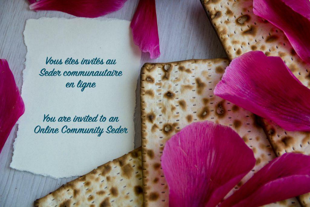 Seder communautaire en ligne