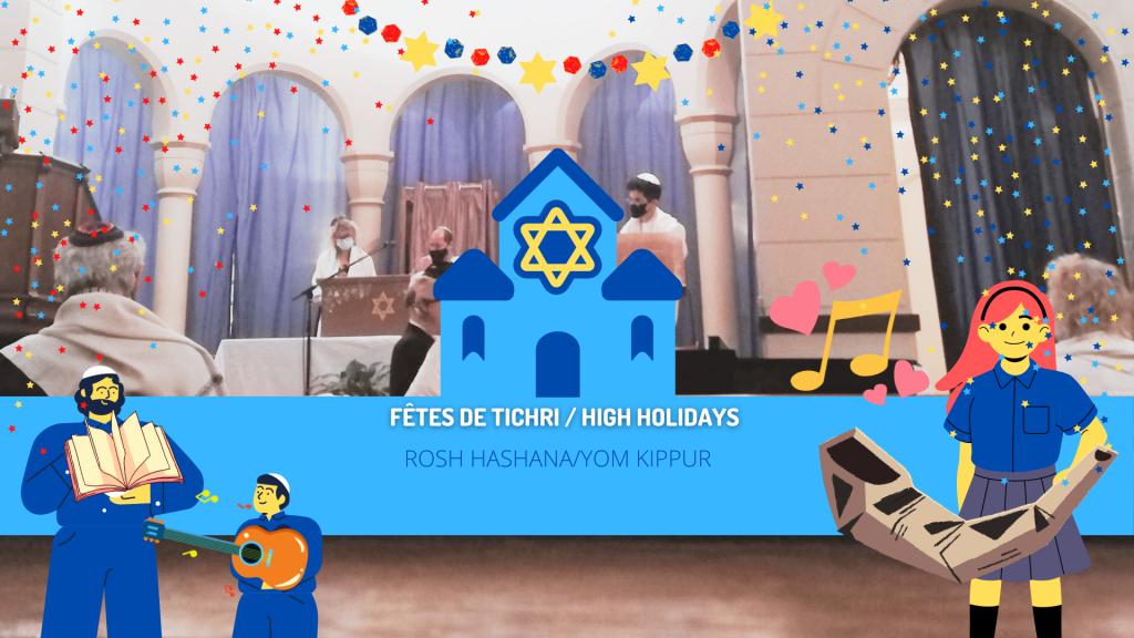 High Holidays Rosh Hashana and Yom Kippur